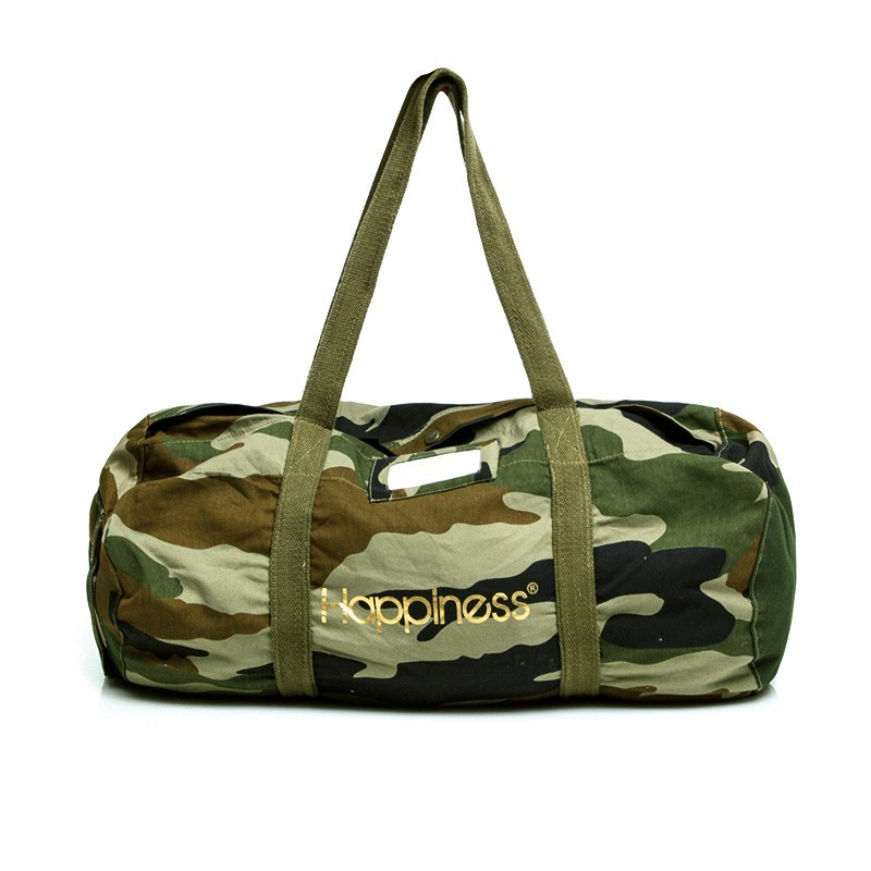 HAPPINESS BORSA BORSONE ARMY BAG CAMOUFLAGE