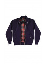 IN THE BOX FELPA BARACUTA ZIP BLU