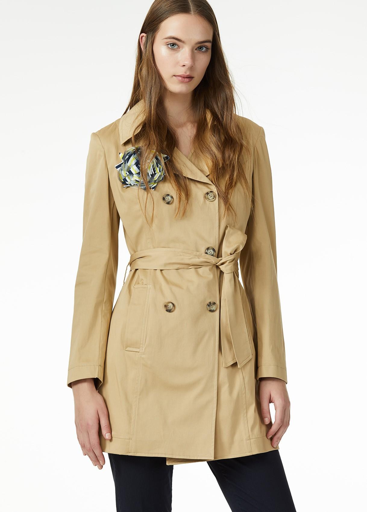 wholesale dealer 7e0f9 5631f LIU JO TRENCH TRAVERTINE (CORTECCIA) - Giubbotti - Donna ...