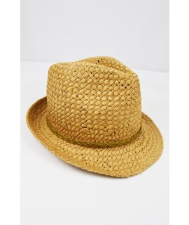 SCOTCH & SODA CAPPELLO IN CORDA CHIARO