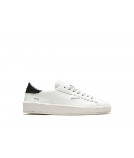 DATE UOMO SCARPE SNEAKERS ACE CALF WHITE-BLACK