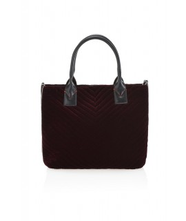 PINKO BORSA SHOPPING MEDIA PINKO BAG ADAMS BORDEAUX