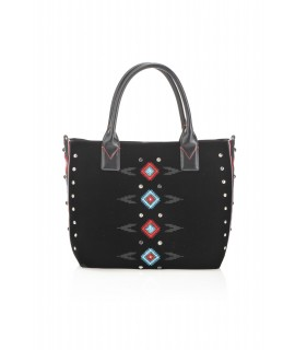 PINKO BORSA SHOPPING MEDIA PINKO BAG DOSSO NERO