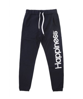 HAPPINESS UOMO PANTALONE WALKER BLU SCURO