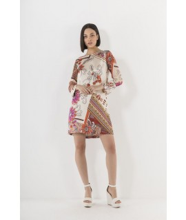 MARKUP DONNA ABITO STAMPA PATCH