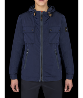 DEKKER GIUBBOTTO RE-FLEX HOODY BLU