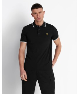 LYLE & SCOTT POLO PROFILI NERO