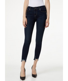 LIU JO JEANS BOTTOM UP IDEAL VITA REGOLARE DENIM BLUE REALITY WASH