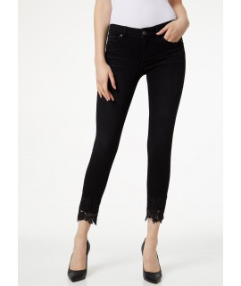 LIU JO JEANS BOTTOM UP IDEAL VITA REGOLARE DENIM BLACK REMARKABLE WASH