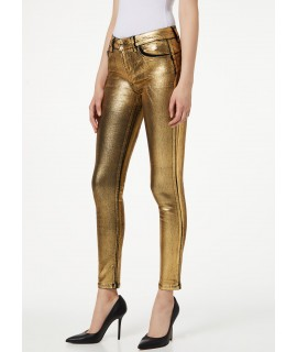 LIU JO JEANS BOTTOM UP DIVINE VITA ALTA DENIM BLACK GOLD WASH