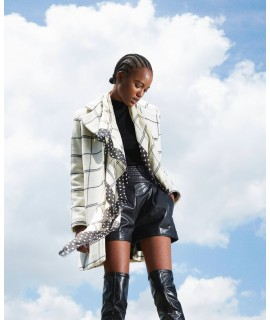 TWINSET KEFIAH POIS/CHECK