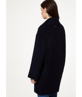 LIU JO CAPPOTTO CON SPILLA BLU NIGHT