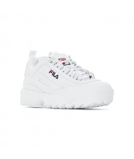FILA DONNA SCARPE SNEAKERS DISRUPTOR LOW WMN BIANCO (WHITE)
