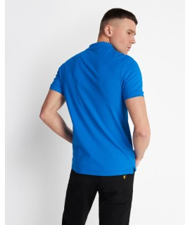 LYLE & SCOTT POLO SLIM STRETCH BLUETTE