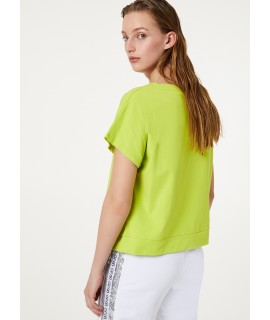 LIU JO SPORT T-SHIRT KEEP ON GOING GERMOGLIO