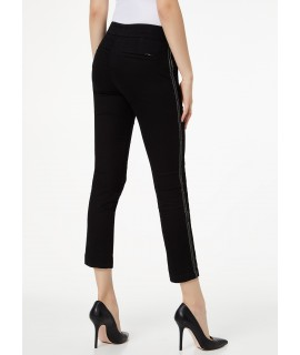 LIU JO PANTALONE GINGERLY DENIM BLACK ALLURE WASH