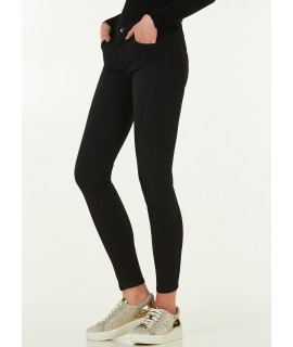 LIU JO JEANS DIVINE STRASS DENIM BLACK GLITTER WASH