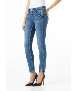 LIU JO JEANS BOTTOM UP SK SWEET VITA REGOLARE DENIM BLUE ROSE WASH