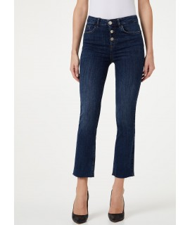 LIU JO JEANS BOTTOM UP PRINCESS VITA ALTA DENIM BLUE EVENT WASH