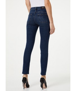 LIU JO JEANS BOTTOM UP IDEAL VITA REGOLARE DENIM BLUE EVENT WASH